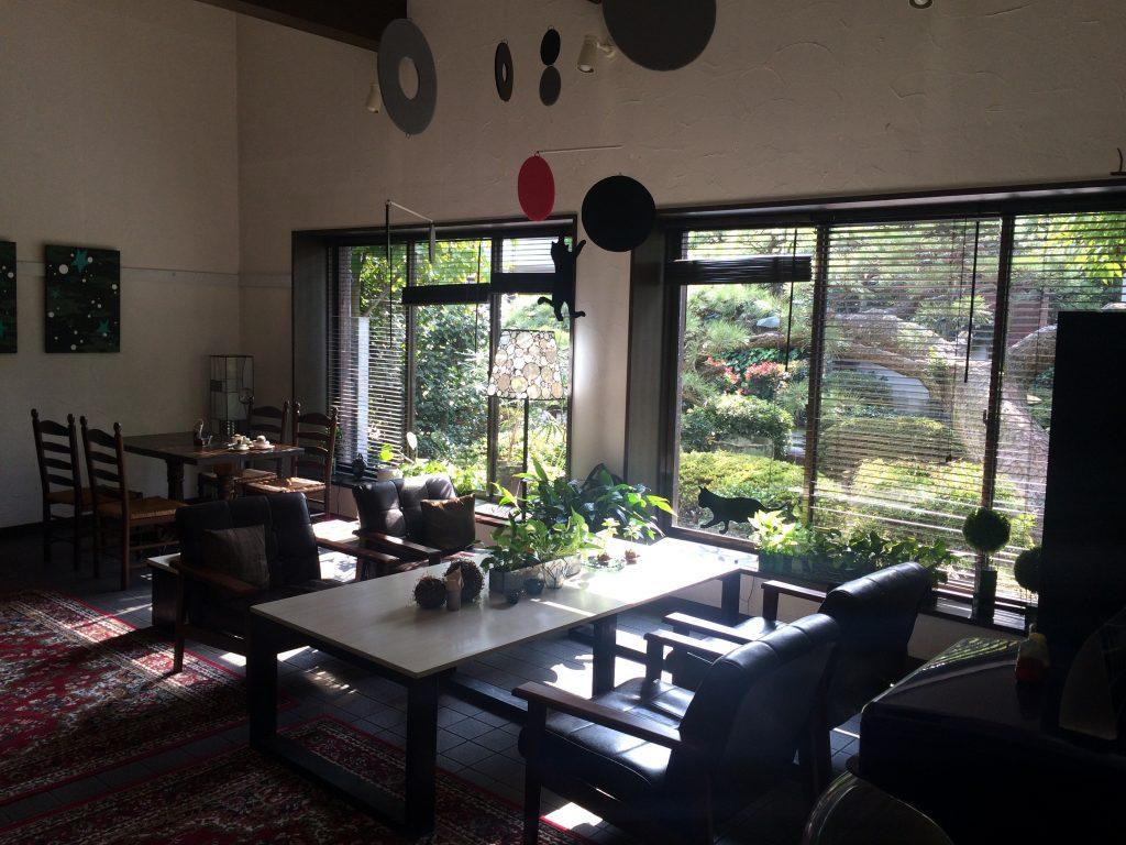 N Cafeさんのカフェスペース
