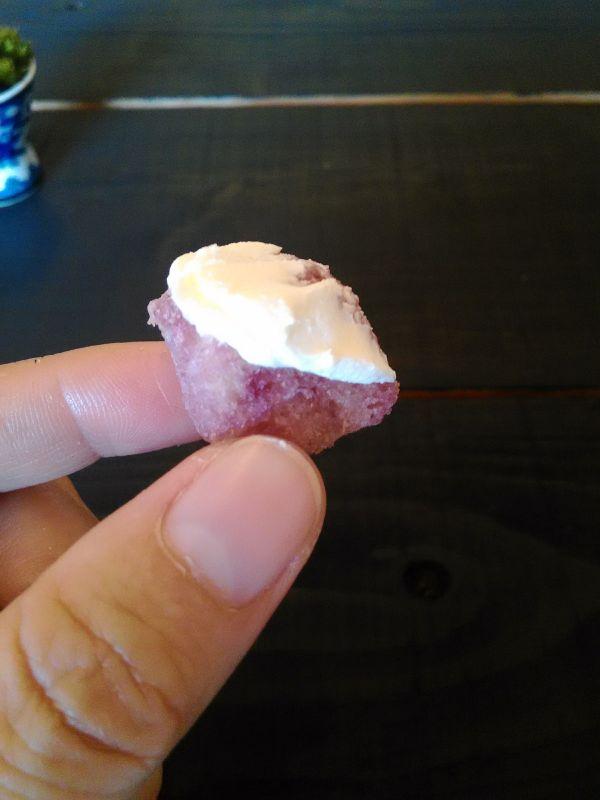 ブルーベリーラスクとクリームチーズ