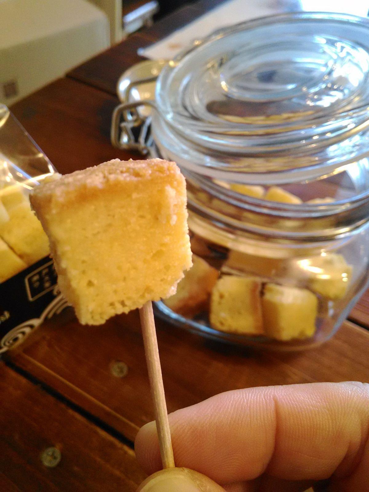 スモークチーズラスク